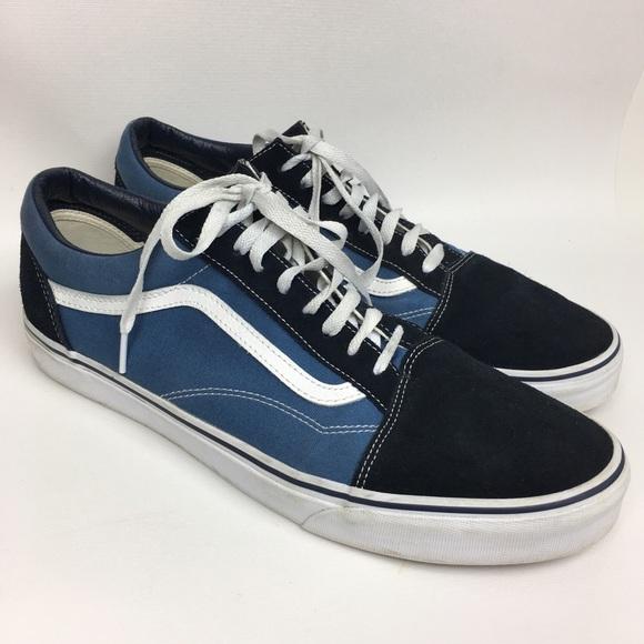 338a15b4cc VANS Sz 14 Blue Navy Men's Shoes